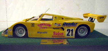 Lot 242-Spice Se Le Mans Car 1:20 Scale Model