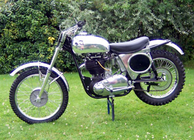 Lot 9-1966 BSA Cheney Gold Star