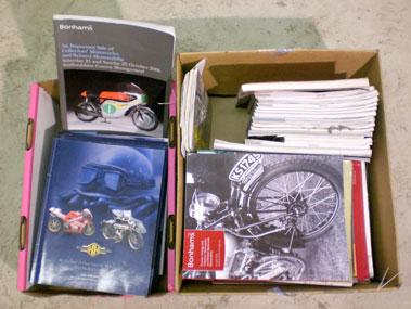 Lot 107-Quantity Of Auction Catalogues