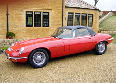 Lot 37-1973 Jaguar E-Type V12 Roadster