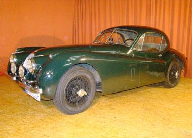 Lot 46-1952 Jaguar XK120 Fixed Head Coupe