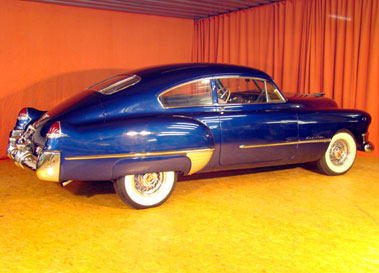 Lot 45-1949 Cadillac Series 61 Sedanet Fastback Coupe