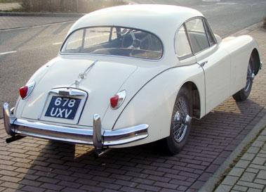 Lot 49-1959 Jaguar XK150 3.8 Litre Fixed Head Coupe