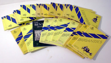 Lot 108-Assorted Bugantics Magazines