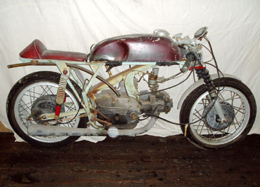 Lot 7-c1961 Aermacchi Racing Motorcycle