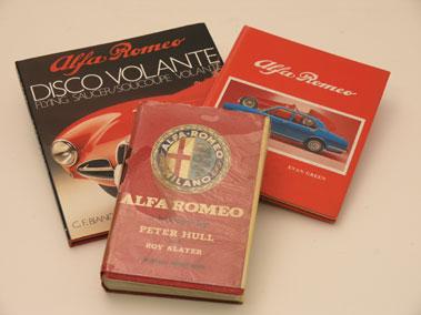 Lot 111-Three Alfa Romeo Books