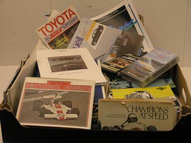 Lot 113-Assorted Motoring Literature