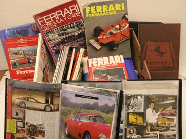 Lot 114-Assorted Ferrari Ephemera