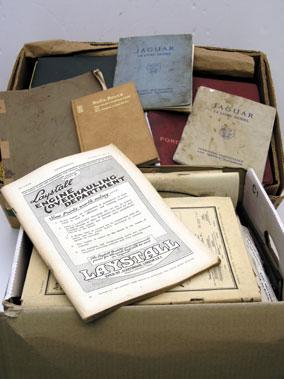 Lot 116-Assorted Motorcar Handbooks & Related Literature