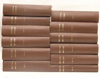 Lot 119-Twelve Bound Volumes Of Practical Motorist