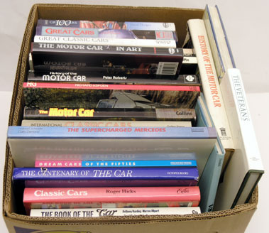 Lot 122-Assorted Motoring Books