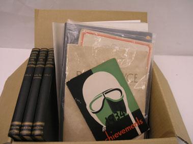 Lot 124-Assorted Literature