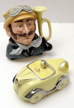 Lot 220-Porcelain Automobilia