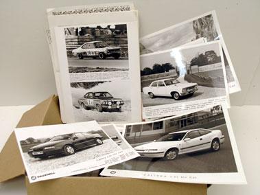 Lot 125-Quantity Of Vauxhall Literature