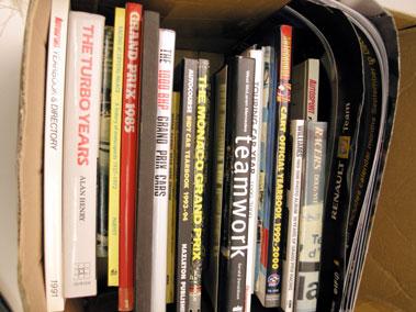 Lot 126-Assorted Motor Racing Books