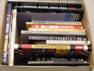 Lot 127-Assorted Motor Racing Books