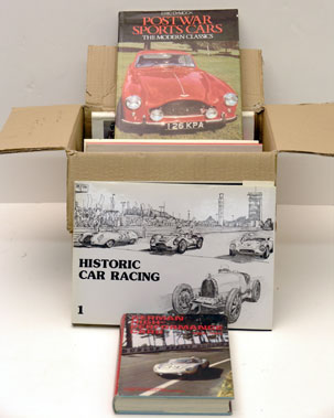 Lot 129-Assorted Motoring Reference Books