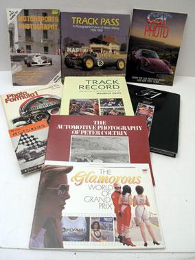 Lot 134-Motor Racing Photography Books
