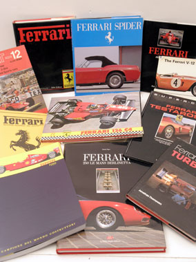 Lot 136-Assorted Ferrari Literature