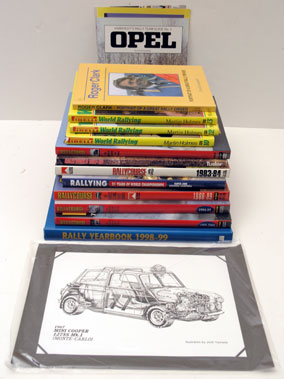 Lot 137-Assorted Rallying Literature
