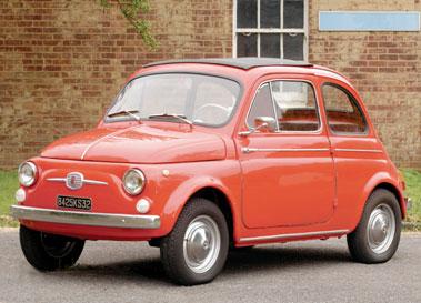 Lot 3-1962 Fiat 500 D