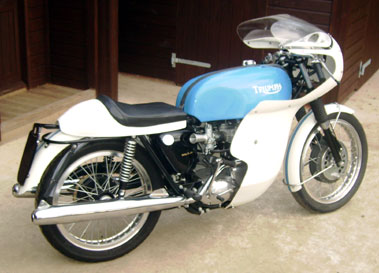 Lot 27-1963 Triumph Thruxton Evocation