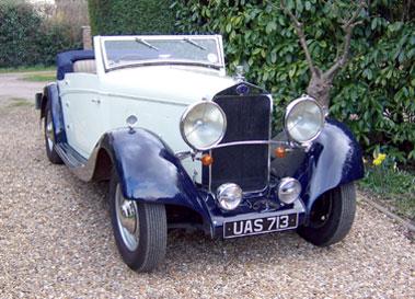 Lot 44-1934 Delage D8-15S Drophead Coupe