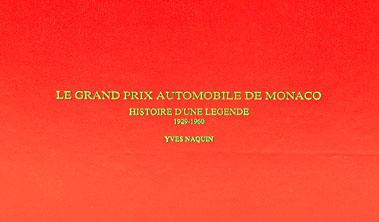 Lot 141-Le Grand Automobile De Monaco By Yves Naquin