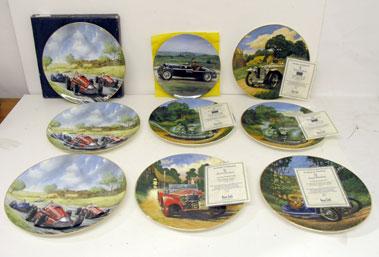 Lot 212-Assorted Commemorative Motoring Plates