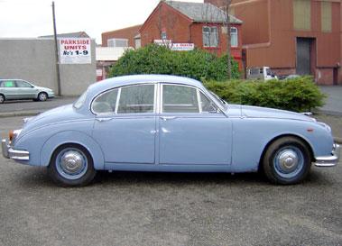 Lot 63-1963 Jaguar MK II 3.4 Litre