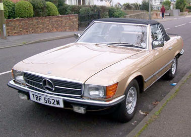 Lot 58-1980 Mercedes-Benz 500 SL