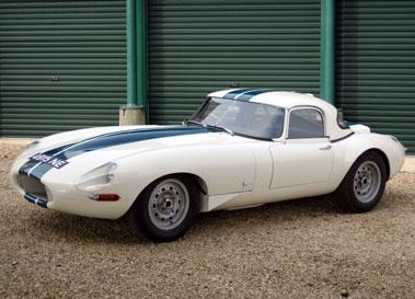 Lot 27-1962 Jaguar E-Type 3.8 Lightweight Roadster Evocation