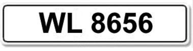 Lot 4-Registration Number WL 8656
