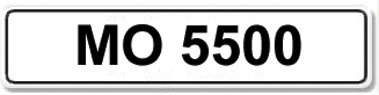 Lot 13-Registration Number MO 5500