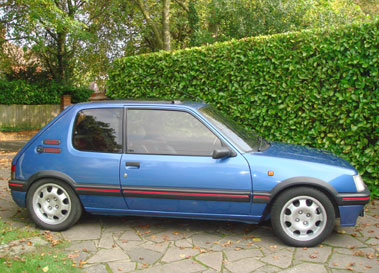 Lot 32-1993 Peugeot 205 GTi 1.9