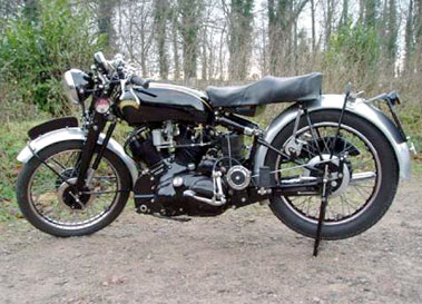 Lot 33-1951 Vincent Rapide Series C