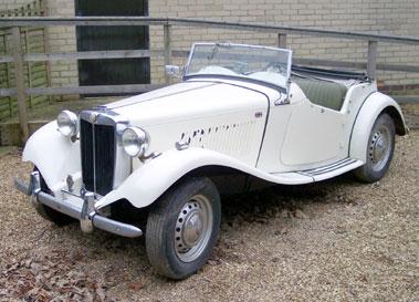 Lot 10-1950 MG TD