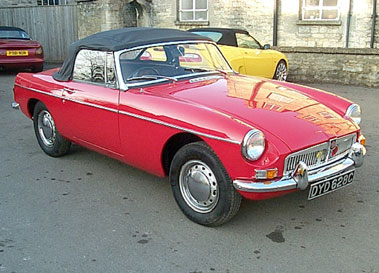 Lot 54-1965 MG B Roadster