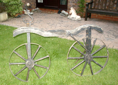 Lot 16-Hobby Horse Bicycle
