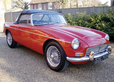 Lot 45-1969 MG C Roadster