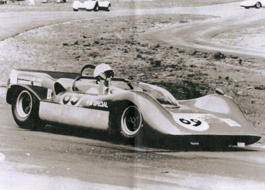 Lot 12-1966/67 Brahma B2 Sports Racer Rolling Chassis