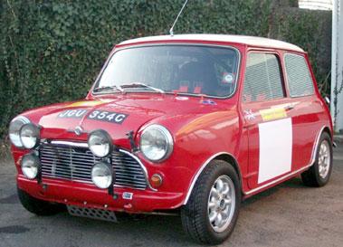 Lot 65-1965 Morris Mini Cooper S
