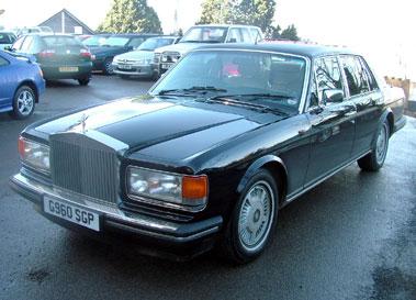 Lot 72-1989 Rolls-Royce Silver Spirit