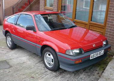 Lot 75-1984 Honda CRX