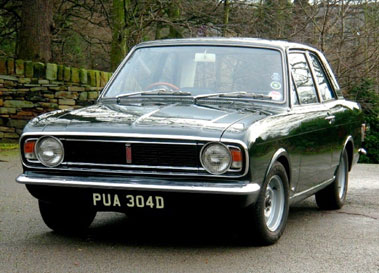 Lot 4-1966 Ford Cortina 1500 GT