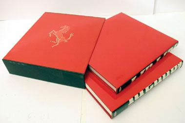 Lot 100-Ferrari Catalogue Raisonne 1946-89