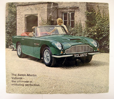Lot 102-Aston Martin DB6 'Short Chassis Volante' Sales Brochure