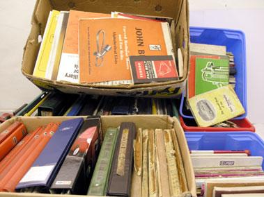 Lot 105-Large Quantity of Assorted Literature