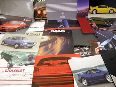 Lot 107-Assorted Sales Brochures
