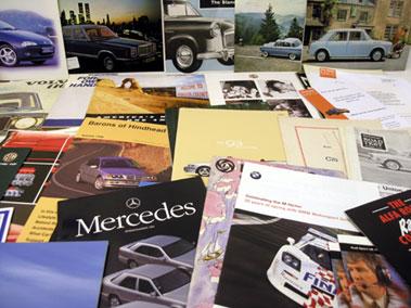 Lot 109-Assorted Sales Brochures